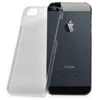 Coque rigide transparente pour iPhone 5 5s SE transparente