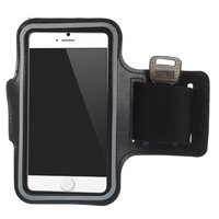Ceinture de course noire Brassard Sport pour iPhone 6 6s 7 8 - Sportband - Noir