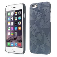 Coque aluminium triangulaire iPhone 6 Plus 6s Plus noire Coque triangulaire