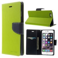 Mercury Goospery greenet bookcase Etui portefeuille iPhone 6 Plus 6s Plus