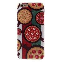 Étui à pizza TPU iPhone 6 6s drapeau italien vert blanc rouge couverture Italie