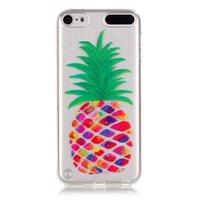 Étui transparent pour ananas iPod Touch 5 6 7 Étui en silicone pour ananas Coloré