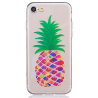 Coque ananas transparente Coque ananas en silicone iPhone 7 8 Coloré