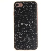 Étui TPU pour formules physiques iPhone 7 8 SE 2020 E = étui mathématique MC2