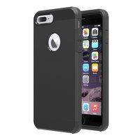 Coque antichoc iPhone 7 Plus 8 Plus Noire Coque TPU très solide