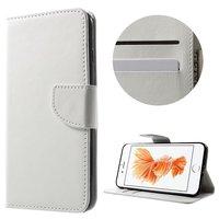 Etui portefeuille iPhone 7 Plus 8 Plus blanc Etui portefeuille Etui en cuir