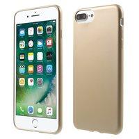 Coque Dorée pour iPhone 7 Plus 8 Plus Coque Rigide Coque Dorée