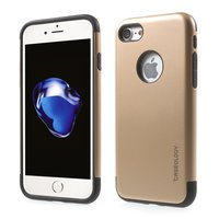 Caseology gold case iPhone 7 8 Golden TPU silicone case Black cover