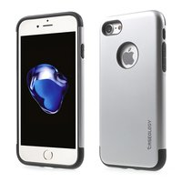 Caseology silver case iPhone 7 8 Silver TPU silicone case Black cover