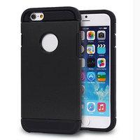 Coque antichoc noire pour iPhone 6 Plus 6s Plus Coque en TPU très robuste