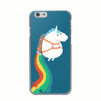 Coque Licorne Coque iPhone 6 Plus et iPhone 6s Plus Coque Licorne Rainbow