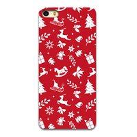 Etui de Noël Etui de Noël iPhone 5 5s et SE TPU Rouge Housse de Noël Rouge