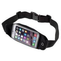 Ceinture noire pour hanches iPhone 6 6s 7 8 Plus Sportband Running