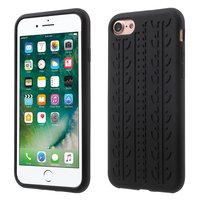 Coque de protection voiture iPhone 7 8 Coque de protection en silicone noir