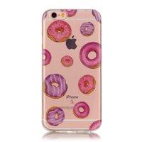 Coque Donut Coque TPU transparente pour iPhone 6 et 6s