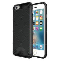 Coque de protection en TPU noire pour iPhone 6 Plus et 6s Plus