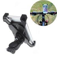 Support Vélo Universel iPhone Samsung Support Téléphone - Réglable - Vélo - Noir