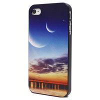 Etui Sunset pour iPhone 4 4S Etui Moon Sunset pour la plage