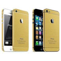 Adhésifs pour pare-chocs Or iPhone 5 5s SE Décor Or Skin