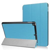 Coque Tri-Fold Smart pour iPad 2017 2018 - Bleu clair