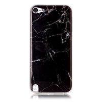 Housse en marbre noir pour iPod Touch 5 6 7 TPU