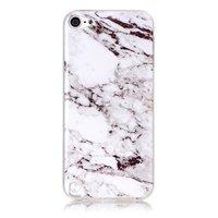 Housse en marbre TPU blanche pour iPod Touch 5 6 7