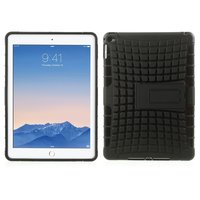 Étui antichoc pour iPad Air 2 - Étui rigide en TPU très robuste noir