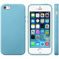 Étui TPU bleu clair pour iPhone 5, 5S et SE Slim
