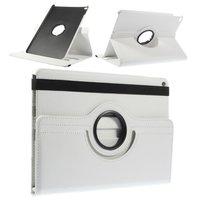 Étui iPad Air 2 blanc avec couvercle pivotant standard