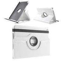 Étui rotatif en cuir blanc pour iPad mini 4 et iPad mini 5 (2019)