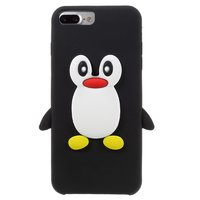 Coque 3D pingouin noir iPhone 7 Plus 8 Plus