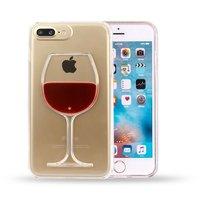 Etui rigide pour étui à vin avec coque iPhone 7 Plus 8 Plus