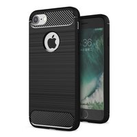 Coque en TPU Black Carbon Armor pour iPhone 7 8