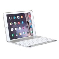 Witspad Bluetooth Keyboard Cover Keyboard Cover Case Backlight iPad Air 2 - Silver - QWERTY