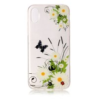 Coque en TPU Spring Daisy Flowers pour iPhone X XS