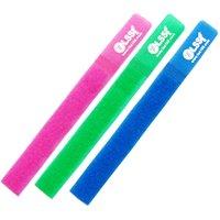3x colliers de couleur reliure de couleur organisateur de câble organisateurs de câble velcro