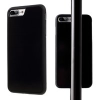 Étui selfie mains libres avec étui anti-gravité noir nano-revêtement pour iPhone 7 Plus 8 Plus