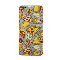 Etui Pizza transparent Etui Coque TPU iPhone 6 Plus 6s Plus