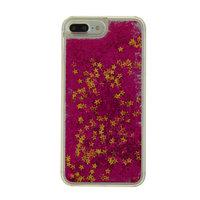 Coque rigide pourpre scintillante violette pour iPhone 7 Plus 8 Plus