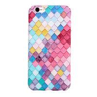 Coque rigide à échelles colorées pour iPhone 6 Plus 6s Plus