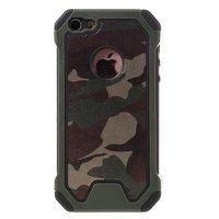 Survivant de l'armée TPU étui rigide iPhone 5 5s SE étui housse camo army