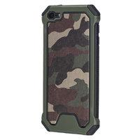 Survêtement de l'armée TPU étui rigide iPod Touch 5 6 7 housse de protection armée camo vert
