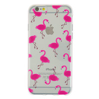 Coque TPU transparente rose flamant rose Coque iPhone 6 6s