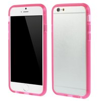 Housse de protection transparente rose pour iPhone 6 6s