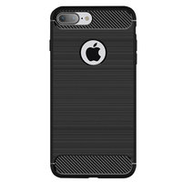 Coque en TPU Black Carbon Armor pour iPhone 7 Plus 8 Plus