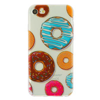 Coque en TPU Donut transparente Coque iPhone 7 8