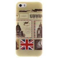 Coque TPU iPhone 5 5s SE Londres Angleterre britannique