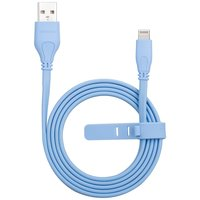 MOMAX MFi Lightning Cable 1 mètre - Câble de charge bleu