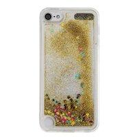 Coque transparente pour l'iPod Touch 5 6 7 couvercle glitter doré