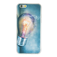 Coque en TPU incandescente pour iPhone 6 Plus 6s Plus - Étui pour ampoule industrielle